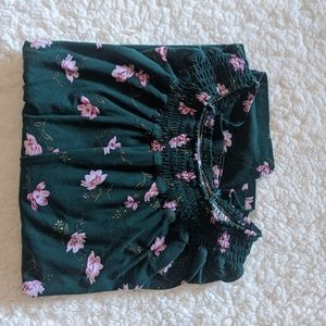 Girls Floral Long Sleeve